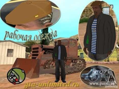 Pak-Arbeitskleidung für GTA San Andreas