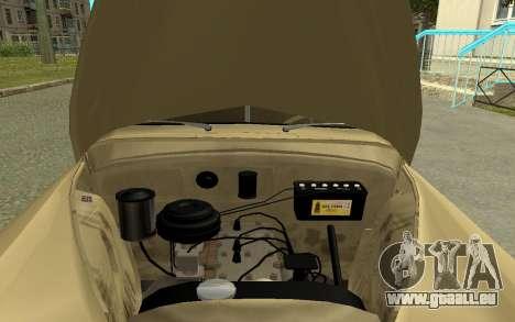 GAZ M20 Pobeda 1949 pour GTA San Andreas vue arrière