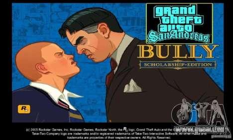 Botte clipart Bully Scholarship Edition pour GTA San Andreas