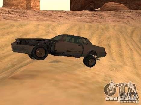 Rusty empereur de GTA 4 pour GTA San Andreas laissé vue