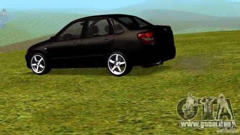 LADA Granta v2.0 pour GTA San Andreas laissé vue