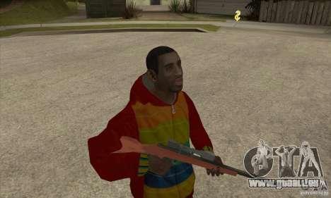 Fahrer-Playboy X für GTA San Andreas zweiten Screenshot