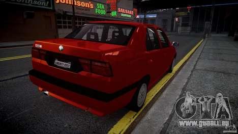Alfa Romeo 155 Q4 1992 für GTA 4 hinten links Ansicht