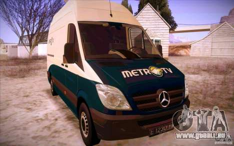 Mercedes Benz Sprinter 311 CDi für GTA San Andreas