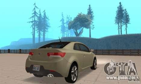 Kia Forte Koup 2010 für GTA San Andreas linke Ansicht