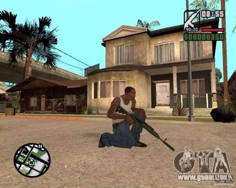AK-47 from GTA 5 v.1 für GTA San Andreas zweiten Screenshot