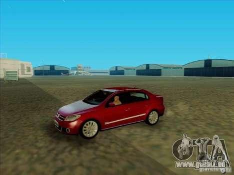 Volkswagen Voyage Comfortline 1.6 2009 für GTA San Andreas rechten Ansicht