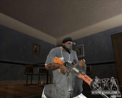 Jarra Mono Arsenal v1.2 für GTA San Andreas fünften Screenshot