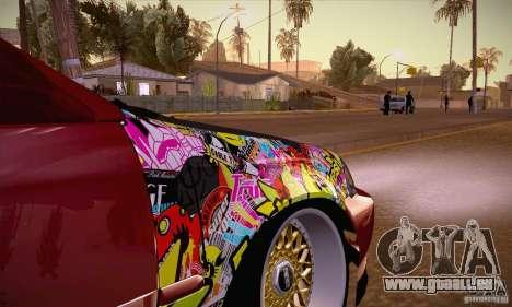 Honda Civic Tuning 2012 pour GTA San Andreas vue intérieure