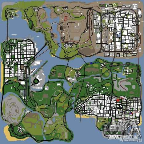 Animaux dans GTA San Andreas 2.0 pour GTA San Andreas cinquième écran