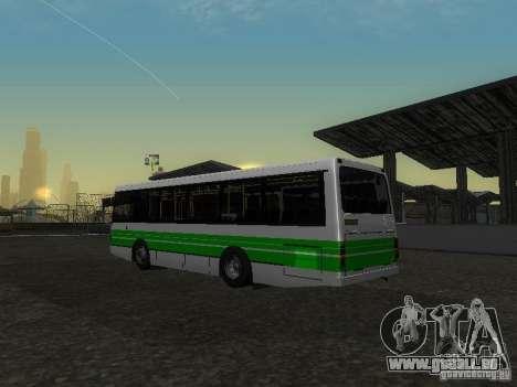 LAZ 42021 LRS pour GTA San Andreas vue intérieure