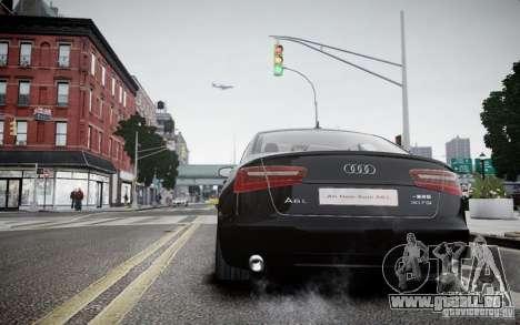 Audi A6L pour GTA 4 Vue arrière de la gauche