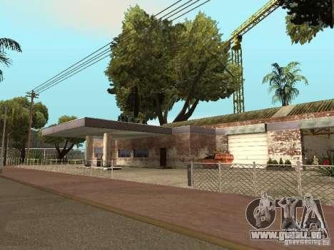 Service de voiture environ Groove v1.5 pour GTA San Andreas