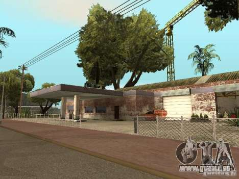Autoservice Groove etwa v1. 5 für GTA San Andreas