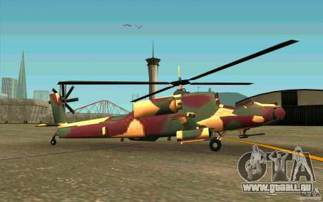 Hunter Armee Look für GTA San Andreas zurück linke Ansicht