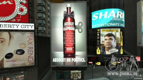 Time Square Mod pour GTA 4 neuvième écran