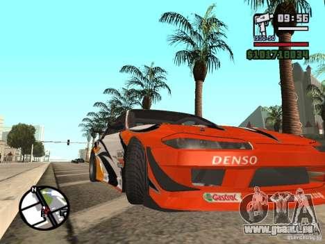 Nissan Silvia 200SX pour GTA San Andreas laissé vue