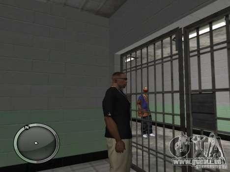 L'arrestation de violator-3 pour GTA San Andreas troisième écran