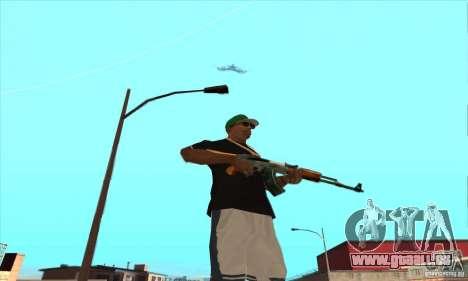 WEAPON BY SWORD pour GTA San Andreas dixième écran