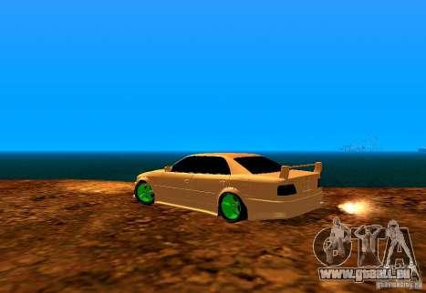 Toyota Chaser Tourer V pour GTA San Andreas laissé vue