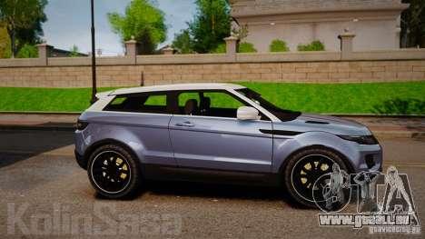 Range Rover Evoque für GTA 4 linke Ansicht