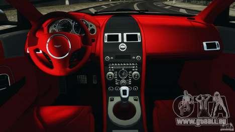 Aston Martin DBS Volante [Final] pour GTA 4 Vue arrière
