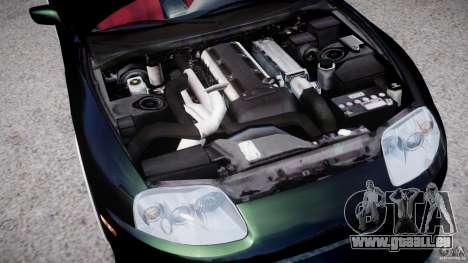Toyota Supra JZA80 pour GTA 4 Vue arrière