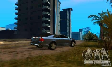 Ford Fusion Sport pour GTA San Andreas sur la vue arrière gauche