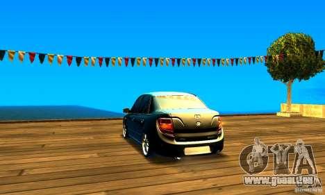 Lada Granta v2.0 für GTA San Andreas zurück linke Ansicht