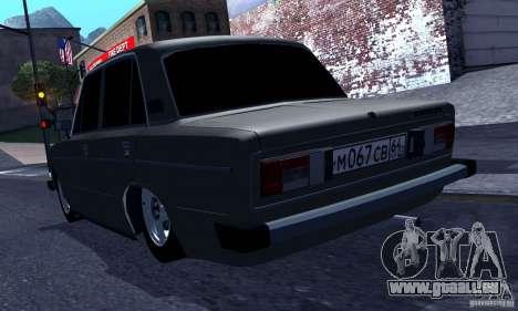 VAZ 2106 Hobo pour GTA San Andreas vue de droite