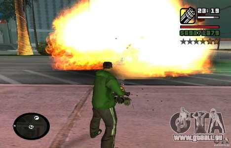 New Effects [HQ] pour GTA San Andreas deuxième écran