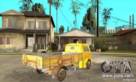 Tempo Matador 1952 Bus Barn version 1.1 pour GTA San Andreas vue de droite