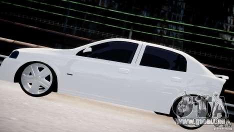 Chevrolet Astra Advantage 2009 pour GTA 4 est une gauche