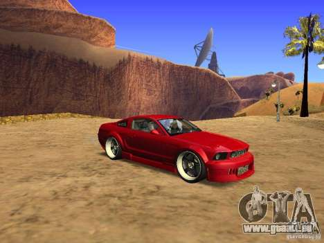 Ford Mustang GT 2005 Tuned für GTA San Andreas linke Ansicht