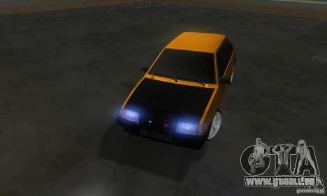 VAZ 2109 léger Tuning pour GTA San Andreas vue intérieure