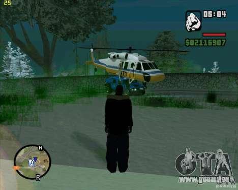 U.S.M.C. Desant pour GTA San Andreas deuxième écran