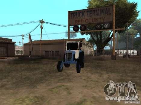 MTZ 52 pour GTA San Andreas vue de droite