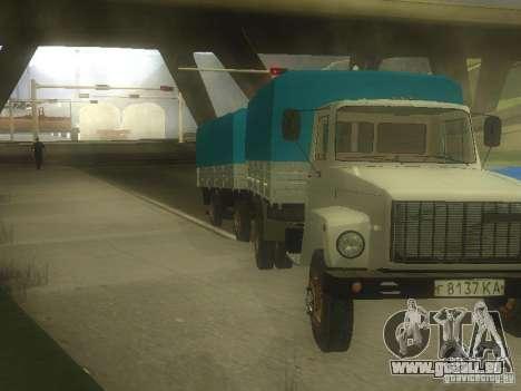 GAZ 3307 pour GTA San Andreas laissé vue