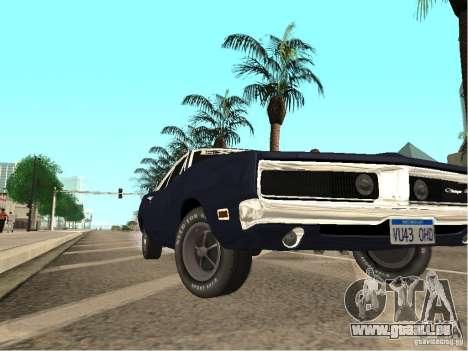 Dodge Charger RT Light Tuning für GTA San Andreas rechten Ansicht