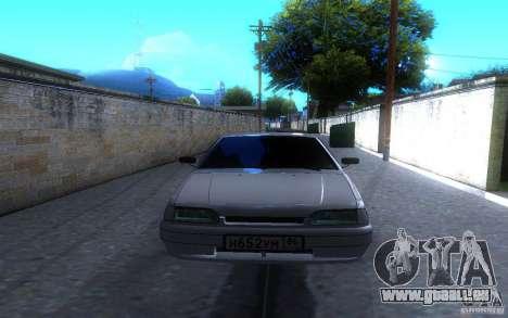 ВАЗ 2114-LT für GTA San Andreas Rückansicht