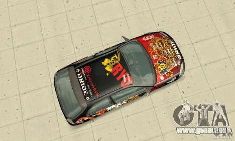 Honda-Superpromotion für GTA San Andreas rechten Ansicht