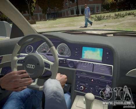 Audi A6 Avant Stanced pour GTA 4 est un côté