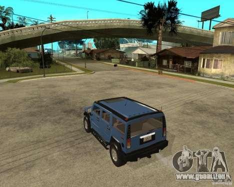 AMG H2 HUMMER für GTA San Andreas linke Ansicht