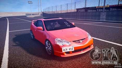 Acura RSX TypeS v1.0 stock für GTA 4 Rückansicht