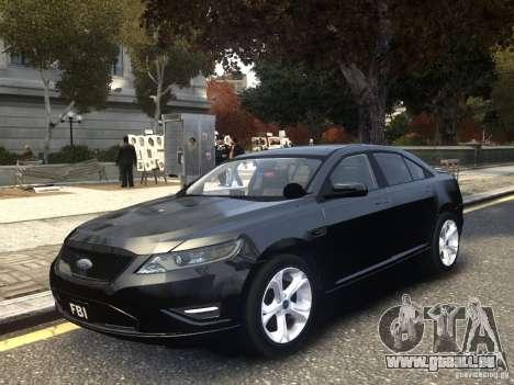 Ford Taurus FBI 2012 pour GTA 4