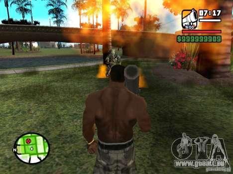 Predator pour GTA San Andreas troisième écran