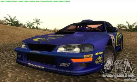 Subaru Impreza 22B pour GTA San Andreas