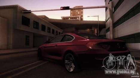 BMW 640i Coupe für GTA San Andreas linke Ansicht