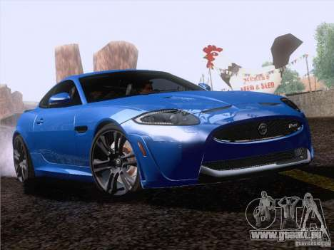 Jaguar XKR-S 2011 V2.0 für GTA San Andreas Rückansicht