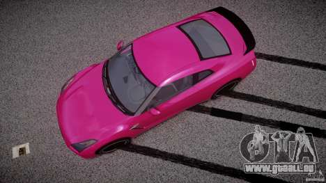 Nissan GTR R35 SpecV v1.0 für GTA 4 rechte Ansicht
